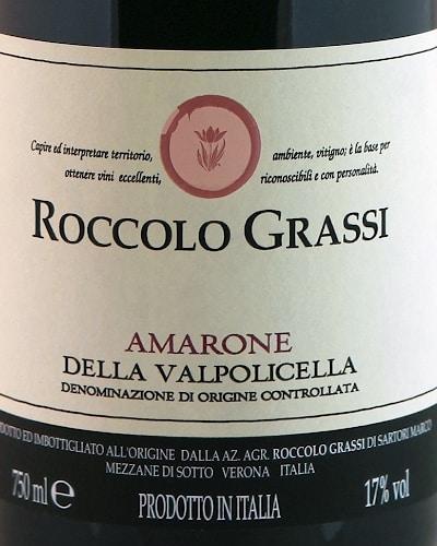 Amarone DOCG, Grassi