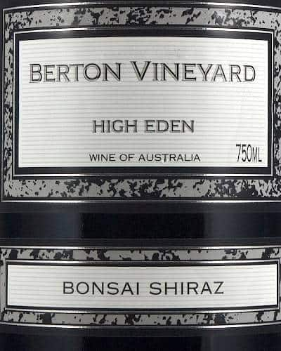 Bonsai Shiraz