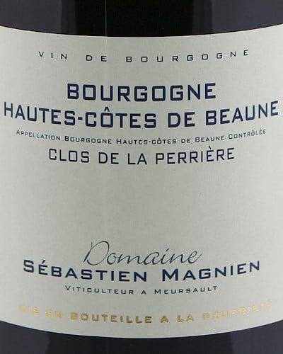Bourgogne Hautes Côtes de Beaune, Sébastien Magnien