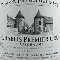 Chablis 1er Cru Fourchaume, Jean Goulley