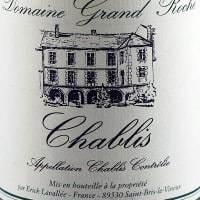 Chablis, Domaine Grand Roche
