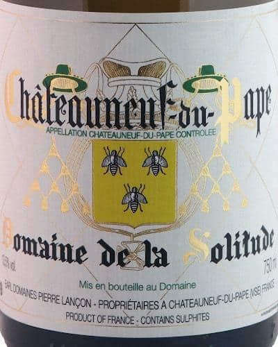 Châteauneuf du Pape Blanc, Domaine de la Solitude