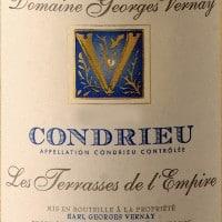 Condrieu 'Terrasses de l'Empire', Georges Vernay