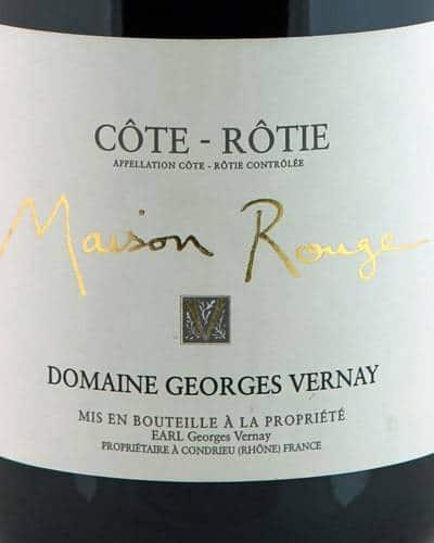 Côte Rôtie 'Maison Rouge', Georges Vernay