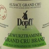 Dopff au Moulin Gewurztraminer Brand de Turckheim Grand Cru