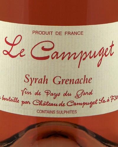 Le Campuget Syrah Grenache Rosé