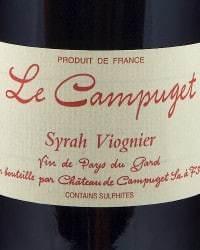 Le Campuget Syrah Viognier