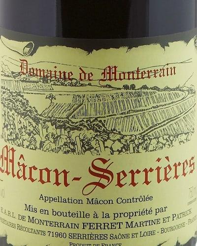 Mâcon Serrières, Domaine Monterrain