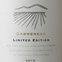 Perez Cruz Carmenère Limited Edition