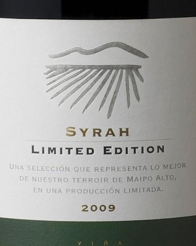 Perez Cruz Syrah Limited Edition