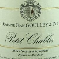 Petit Chablis 'Special Cuvée', Jean Goulley