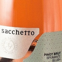 Sacchetto Pinot  Blush Spumante