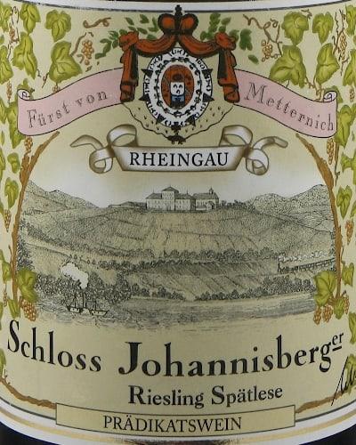 Schloss Johannisberger Riesling Grünlack Spätlese, Green Seal