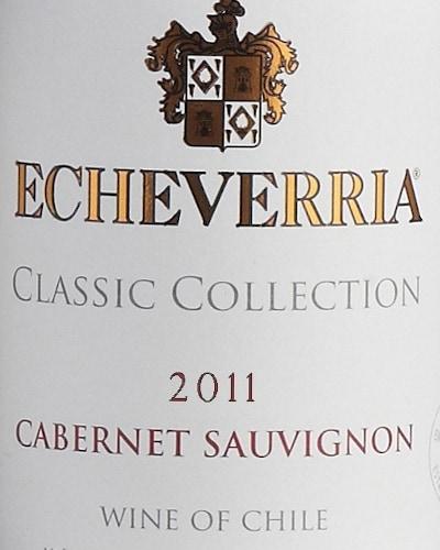 Viña Echeverria Cabernet Sauvignon