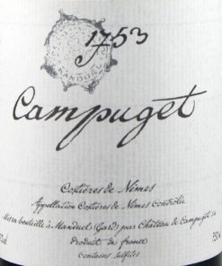 1753 Syrah, Château de Campuget