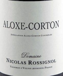 Aloxe Corton, Nicolas Rossignol