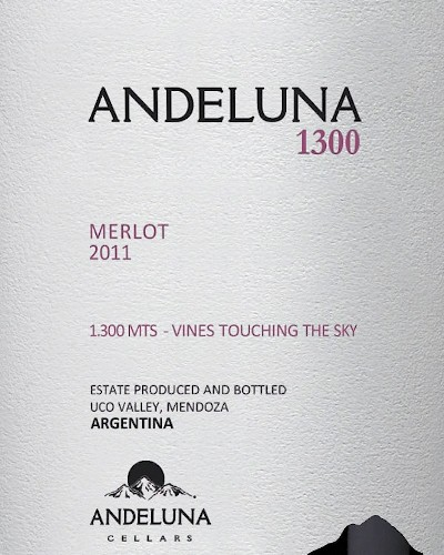 Andeluna 1300 Merlot