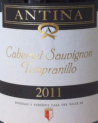 Antina Tempranillo Cabernet Sauvignon