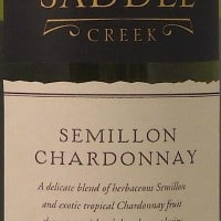 Berton Vineyards Saddle Creek Semillon Chardonnay