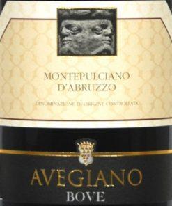 Bove Avegiano Montepulciano d'Abruzzo