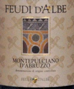 Bove Feudi d'Albe' Montepulciano d'Abruzzo