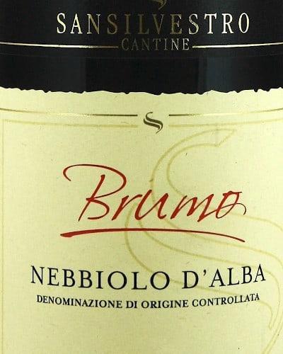Brumo' Nebbiolo d'Alba DOC, San Silvestro