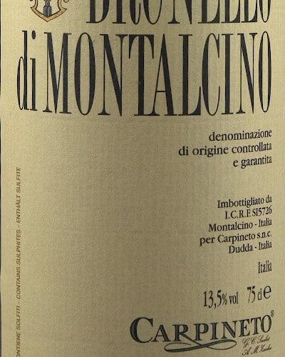 Brunello di Montalcino DOCG, Carpineto