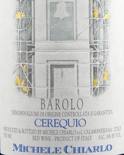 Cerequio' Barolo DOCG, Chiarlo