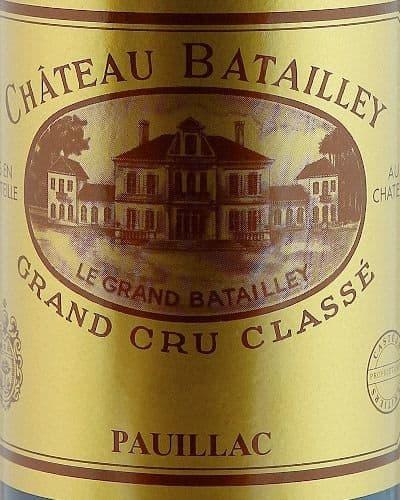 Château Batailley 5ème Cru Classé, Pauillac (2007)