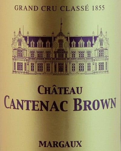 Château Cantenac Brown 3ème Cru Classé, Margaux