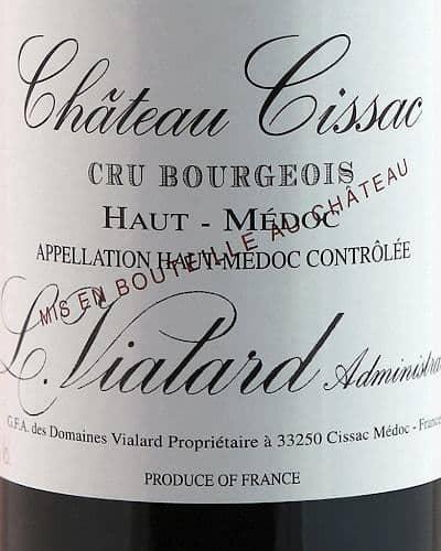 Château Cissac, Haut Médoc