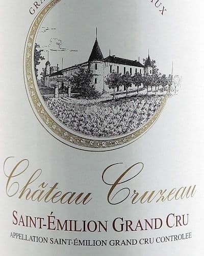 Château Cruzeau, Saint Emilion Grand Cru
