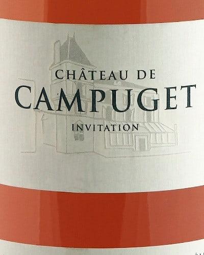 Château de Campuget  Rosé 'Invitation'