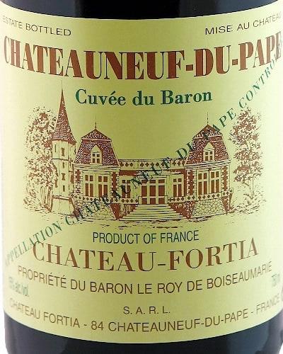 Château Fortia  'Cuvee de Baron'