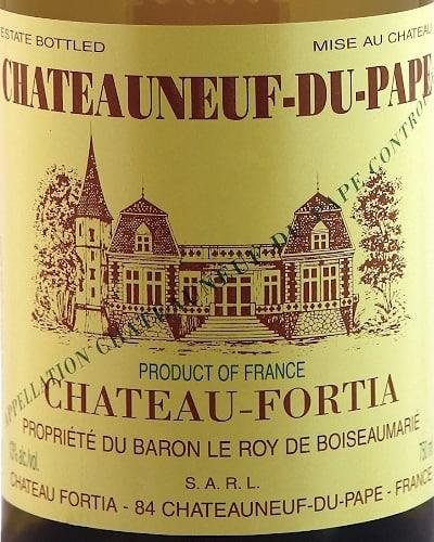 Château Fortia  white