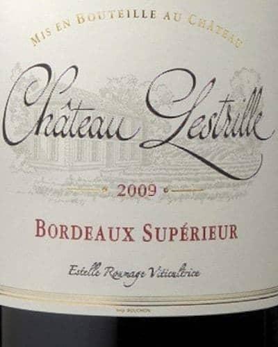 Château Lestrille, Bordeaux Supérieur