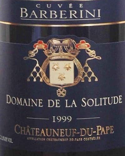 Châteauneuf du Pape ' Cuvée Barbarini', Domaine de la Solitude
