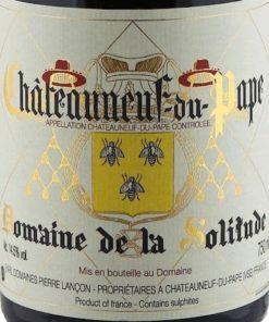 Châteauneuf du Pape, Domaine de la Solitude