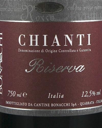 Chianti Riserva DOCG, Bonacchi