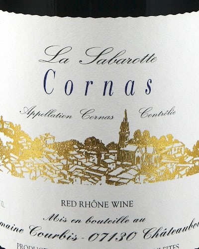 Cornas 'La Sabarotte', Domaine Courbis