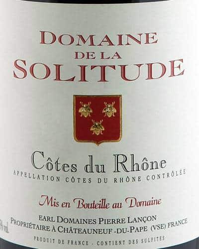 Côtes du Rhône, Domaine de la Solitude