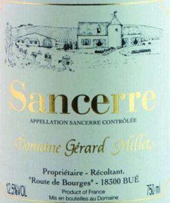 Domaine Gérard Millet Sancerre  (37.5 cl)