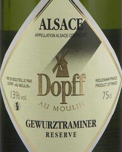 Dopff au Moulin Gewurztraminer Reserve