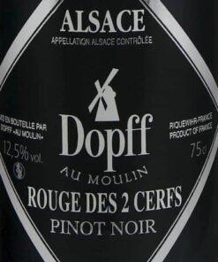 Dopff au Moulin Pinot Noir des 2 Cerfs