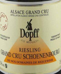 Dopff au Moulin Riesling Schoenenbourg Grand Cru