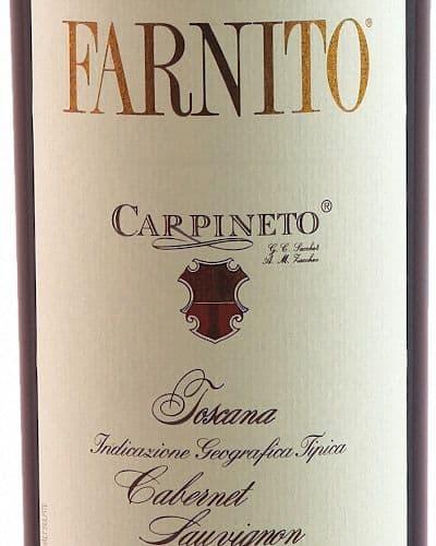 Farnito' Cabernet Sauvignon, Carpineto