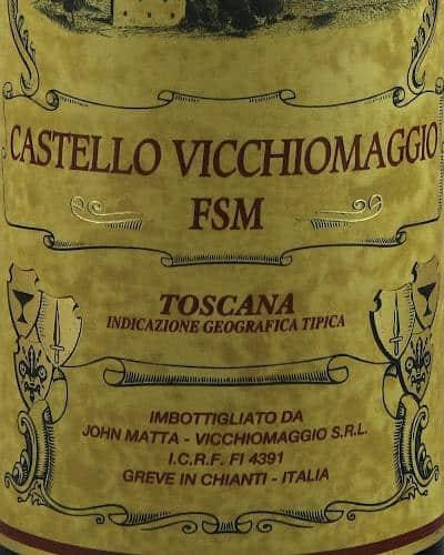 FSM Merlot IGT, Vicchiomaggio (individual wooden box)