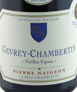 Gevrey Chambertin Vieilles Vignes, Pierre Naigeon