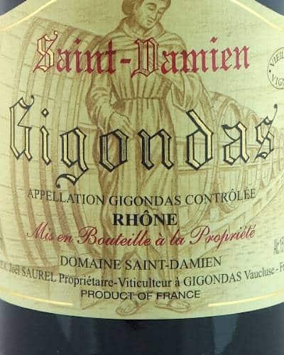 Gigondas Classique, Domaine St Damien