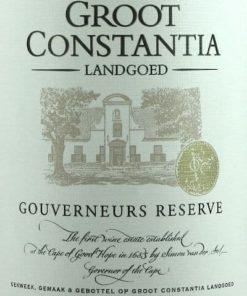 Gouverneurs Reserve, Groot Constantia